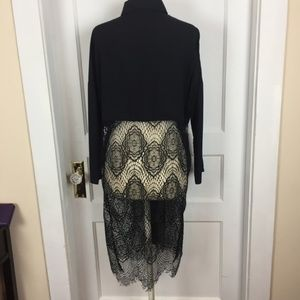 $90 NWOT Nordstrom Lace Tunic by Goldie London S M
